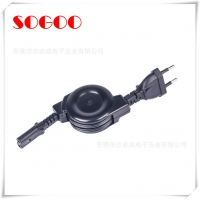 Buy cheap 2 Pin Retractable Cable Assembly Reel Cord Coil For Hair Dryer Hair Salon from wholesalers