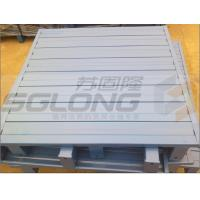 Buy cheap Waterproof Galvanized Powder Coating Steel Metal Pallets Single Faced Eco-Friendly from wholesalers