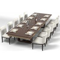 Buy cheap Modern Wood Commercial Restaurant Furniture With Dining Room Chairs High Grade from wholesalers