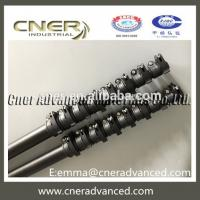 Buy cheap 12m cfrp telescopic pole extended pole for window cleaning pole with clamps from wholesalers