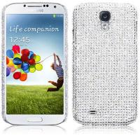 Buy cheap Full Silver Bling Rhinestone Diamand Samsung Cell Phone Cases , Galaxy S4 Cover from wholesalers