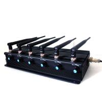 Buy cheap โรงงาน Jammer | 15W High Power Adjustable 3G Mobile Phone VHF UHF Walkie-Talkie Jammer product