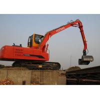 Buy cheap Chippings Crawler Wood Handling Equipment / Wast Material Scrap Handling Crane from wholesalers