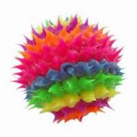 Buy cheap Silicone Rubber Spiky Ball for Dog from wholesalers