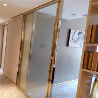 Buy cheap gold metal trim for doors windows mirror color stainless steel material from Wholesalers