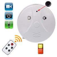 Buy cheap Whole Smoke Detector Spy Camera WiFi Remote Surveillance Monitoring DV MC37 960P 2MP Made In China Factory product