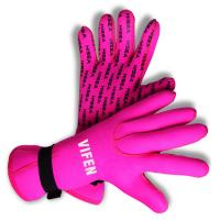 Buy cheap 2.5MM scuba diving gloves nonslip diving gloves, neoprene scuba gloves pattern design pink color from wholesalers