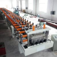 Buy cheap 440V, 60HZ all-round service Customized cheap hot selling Deck floor roll forming machine from wholesalers