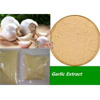 Buy cheap 80 - 100 Mesh Organic Garlic Powder / Allicin Powder Extract Anti Fatigue from wholesalers