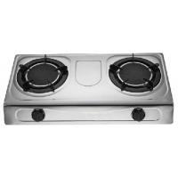 Buy cheap Two Burner Table Top Gas Stove With Infrared Furnace Pot Steel Panel from wholesalers