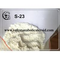 Buy cheap SARMs White Powder S-23 for Increasing Muscle Mass with High Quality from wholesalers