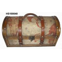 Buy cheap Wooden Box (Wooden Treasure Chest) HS100048 from wholesalers