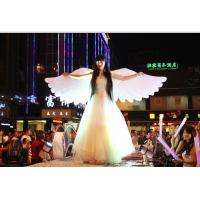 Buy cheap 2m Beautiful Perform Cloth Wearable Moving Inflatable Wing For Stage from wholesalers