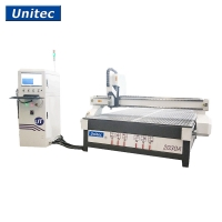 Buy cheap 2mX3m Heavy Duty CNC Router For MDF Solid Wood Acrylic ACP ACM from wholesalers