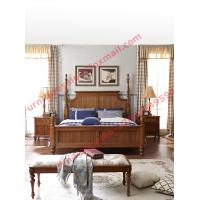 Buy cheap Louis-Philippe de France Style King Bed with Wardrobe in Bedroom Furniture sets from wholesalers