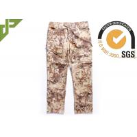 Highlander Mens Army Cargo Pants With Slanted Pocket , Bdu Combat Trousers
