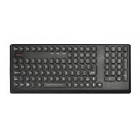 Buy cheap CE , FCC Silicone Industrial Super Rubber Keyboard with Integrated Sealed Numeric Keypad and Desk top from wholesalers