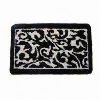 Buy cheap Bathroom Rug with 1.2m Machine Width, Different Patterns are Available from wholesalers