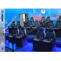 Buy cheap Entertainment Motion Leather Theater Chairs For Big XD Theater With Eletronic System from wholesalers