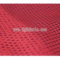 Buy cheap red polyester fabric net knit fabric 75D DTY delicate art design mesh MF-059 from wholesalers