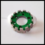 Buy cheap 100mm Segments Diamond Grinding Wheels Diamond Stubbing Wheel For CNC Machine from wholesalers