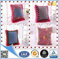 Buy cheap Customized Outdoor Cushion Covers , Sofa Seat Cushion Cover With Polyster + Cotton product