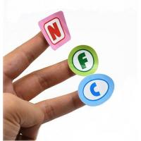 Buy cheap Printable Paper Programmable Nfc Stickers Tag Label For Phone ISO14443A from wholesalers