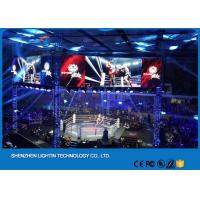 Buy cheap indoor led screen display p3.91 p4.81 video wall 500x500mm Rental Led Display Cabinet Indoor p3.91 p4.81 Led Screen from wholesalers