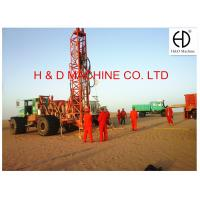 Buy cheap HD-T400 Truck Mounted Integrated Multifunctional Drilling Rig from wholesalers