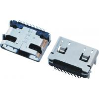 Buy cheap HDMI C Type Connectors 4 Straight Pin Female Dip Short Type Side Enter from wholesalers