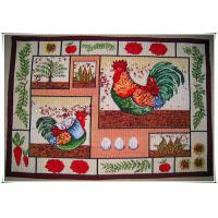 Buy cheap Rooster 48x70cm anti slip rubber wholesale flooring mat price from wholesalers