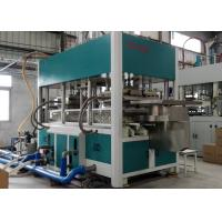Buy cheap Sugarcane Fiber Paper Plate Forming Machine for Moulded Lunch Boxes from wholesalers
