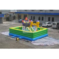 Buy cheap Inflatable Fun City Castle Themed Amusement Park Inflatable Playground Equipment from wholesalers