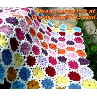 Buy cheap Crochet Vintage Throw Blankets Hand-Woven Bedspread Bedcover Home Decorate Bed/sofa Blanke from wholesalers