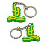 Buy cheap Classic style pvc key holder 3d pvc key chains 2d pvc keyring from wholesalers