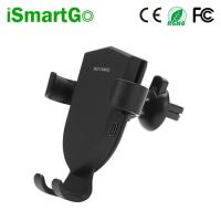 Buy cheap QI Fast Wireless Phone Charger for Car Gravity Car Mount for iPhone X / 8 / Samsung Galaxy S10/ S9/S8/S7 from wholesalers