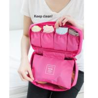 Buy cheap hot sale wholesale price Cosmetic /underwear/bra storage box home storage bag sorting bags travel bag underwear pouch from wholesalers