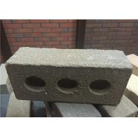 Buy cheap Turned Color Perforated Clay Bricks , Brick Veneer Exterior Siding Low Water Absorption from Wholesalers