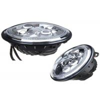 Buy cheap LED Vehicle Headlights With Angel Eyes , Jeep Wrangler LED Work Lights 4x4 product