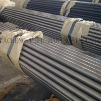 Buy cheap ASTM A53 Black Hot - Dipped ERW Steel Tube , Zinc - Coated Welded Seamless Gas Pipe from wholesalers