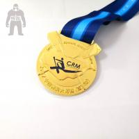 Buy cheap Funny Custom Engraved Metal Gold Medal  , Basketball Medals For Kids Multi Functional from wholesalers