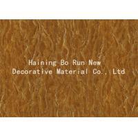 Beautiful Wall Decor Wood Effect Film , Heat Transfer Type Plastic Foil Roll