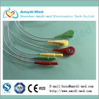 Buy cheap DIN Series 3-lead ecg leadwires product