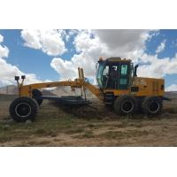 Buy cheap GR215 Road Construction Machinery Cummins Engine / Yellow XCMG 215hp Motor Grader from wholesalers