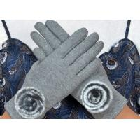 Buy cheap Warm Super Soft Phone Friendly Gloves , Texting Winter Gloves With Smart Touch  from wholesalers