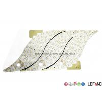 Buy cheap White Led Array Pcb Board , Aluminum Printed Circuit Boards With Well Heat Dissipation product