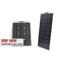 Durability High Output Solar Panels , Frameless 160w Lightweight Solar Cells Panel