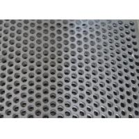Buy cheap Custom Size Perforated Metal Mesh 40% - 81% Filter 304 /316 Stainless Steel product