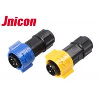 China Eco - Friendly 20A IP67 Waterproof Circular Connectors Electrical 3 Pole 4 Pole IP67 on sale