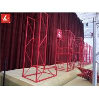Buy cheap Creative Alphabet Letter Shape Irregular Shape Aluminum Square Truss Customized Color from wholesalers